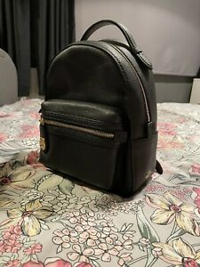 BRAND NEW - Coach Black Pebbled Leather Campus Backpack