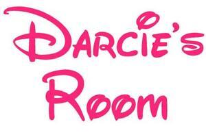 A4 Disney Inspired room sticker.