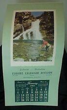 1952 Esquire Calendar Division Salesman Sample Calendar Kodachrome Morant