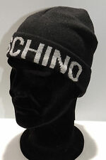 Cappello cuffia hat MOSCHINO art.01261 T.unica col.001 nero Italy