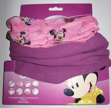 Disney´s Minnie *Kinder Snood in rosa mit lila Vlies*Loop*Schlauchschal*Schal