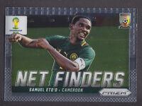 Panini Prizm World Cup 2014 - Net Finders # 6 Samuel Eto'o - Cameroon