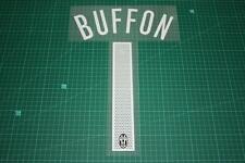 Juventus 05/06 #1 BUFFON Homekit / Awaykit Nameset Printing