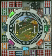 Mexican Train Double 12 Domino Dominoes COLOR DOTS HUB Chicken Noise Free Ship