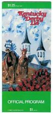 1988 KENTUCKY DERBY HORSE RACING PROGRAM - WINNING COLORS ONLY 3RD FILLY - MINT!