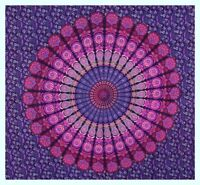Indian Mandala Tapestry Wall Queen Hanging Hippie Throw Bohemian Bedspread New