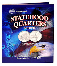 Whitman Coin Folder #8097 Statehood Quarters 1999-2008