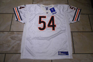 Chicago Bears Jersey. Brian Urlacher # 54. Made by Reebok. Size 54. NWT