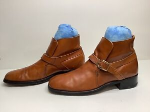 VTG MENS SEARS CASUAL BROWN BOOTS SIZE 11 D