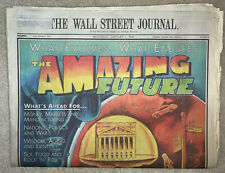 Newspaper Jan 1, 2000 Wall Street Journal Special Section: The Amazing Future