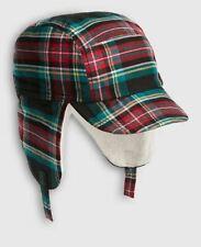 Gap Baby Boy Plaid Trapper Hat Nwt 6-12month N360 Nnn