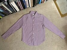 Band of Outsiders Red Blue Striped Button Down Shirt long sleeve men's m Medium