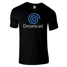 SEGA  DREAMCAST Retro super high quality premium black T Shirt in Pal & NTSC