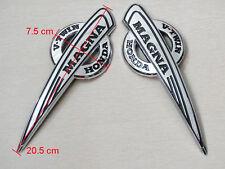 Set Petrol Tank Badges Decal Sticker Motorcycles Emblem for Honda Magna V-Twin