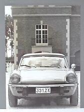 ✇ TRIUMPH SPITFIRE IV zwei Pressefotos Belgien 70er-Jahre