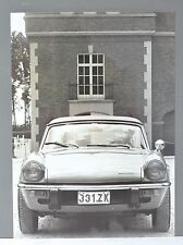 ✇ TRIUMPH SPITFIRE IV due foto stampa Belgio 70er-anni