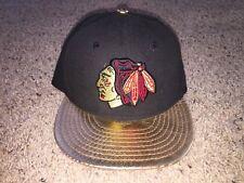 Chicago Blackhawks New Era 9Fifty Gold Metallic Brim Snapback Hat