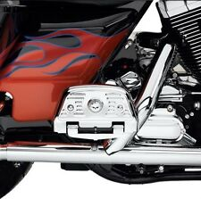 Willie G Skull Passenger Footboard Covers Touring FLH Street Glide Ultra Classic