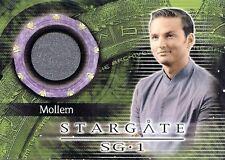 Stargate SG-1 Season 4 Costume Card C10 Mollem