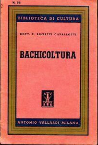 Silvetti Cavallotti E. BACHICOLTURA
