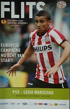 Programm UEFA EL 2011/12 PSV Eindhoven - Legia Warschau