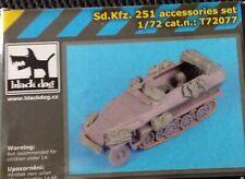 BLACK DOG 1/72 ACCESSORIES SET SDKFZ 251