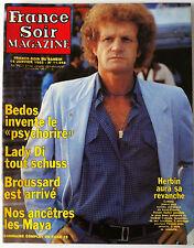 France Soir Magazine du 15/01/1983; Bedos/ Lady Di/ Herbin/ Broussard/ Couderc