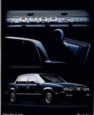 1988 OLDSMOBILE Brochure / Catalog: TORONADO,98,88,CALAIS,CUTLASS,CRUISER Wagon,