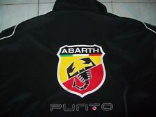 NEU ABARTH Fiat PUNTO Fan- Jacke schwarz jacket veste giacca jakka jas jack