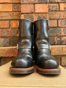 Red Wing engineer boot '2268' with steel toe 11 inch tall, in US 8D, made in USA