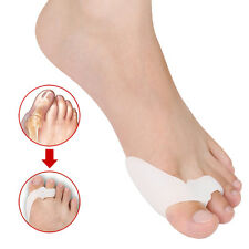 1Pair Silicone Shield Bunion Guards Aid Toe Separators Corrector Pain Relief