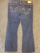 Hollister Cut Off Capri Jeans Size 9 Waist 29 So Cal Stretch Socal