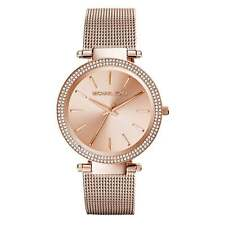 Michael Kors Watches MK3369 Darci Rose Gold Orologio Donna Mesh