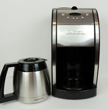 Cuisinart Automatic Grind & Brew Thermal Coffee Maker 10 Cup DGB-600BC