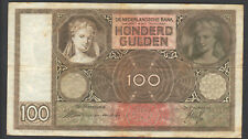 Niederlande 100 Gulden aus 1940 KN: DB 026628