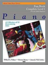 Alfred's Basic Piano Library Fun Book Complete, Bk 1: For the Later Beginner