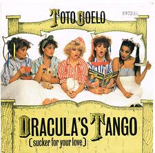 TOTO COELO dracula's tango U.K. RADIAL CHOICE 45rpm_1982  TIC-11