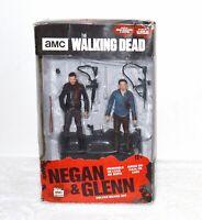 Walking Dead Negan Glenn Action Figure Deluxe Box Set Accessories McFarlane Toys