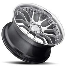 18x8.5 MRR GT7 5x120 +20 Hyper Silver Wheels New Set of (4)