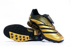 Adidas Predator Absolute A3 HG TR Trainer US9 Truf Astroturf 807540 Sample Gold