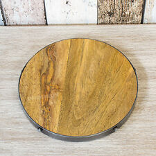 Industrial Wooden Trivet Kitchen Worktop Surface Protector Hot Pan Kettle Stand