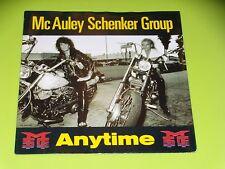 45 Upm Sp - Mc Auley Schenker Group - Anytime - 1990 - Motorrad