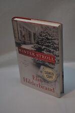 Elin Hilderbrand ~ Winter Stroll~SIGNED~The Island~1st Edition/1st Printing~HC