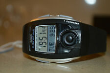 Super Rare Vintage Casio EDB-201C-1AER E-DATA BANK WORLD TIME Digital Watch