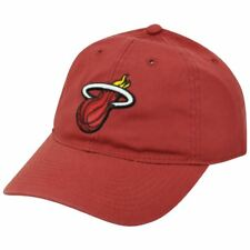 NBA Elevation Miami Heat Garment Washed Snap Buckle EZ350 Slouch Adidas Hat Cap