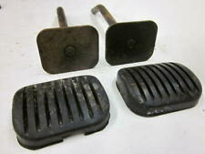 Willys Kaiser CJ5 CJ6 Civilian Jeep Brake and Clutch Pedals with Pads NOS
