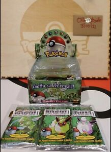 1 x Jungle Unlimited Booster Pack Unweighed Factory Sealed Box Fresh Tamp Seal