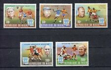s5418) NIGER 1978 MNH** W.C. Football - C.M. Calcio 5v.-OVPTD WNNERS
