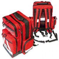 Erste Hilfe Notfall Rucksack, Notfallrucksack ''WasserStopp''  leer, rot groß