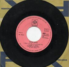 SACHA DISTEL canta in INGLESE disco 45 g STAMPA PORTOGHESE I can't live my life